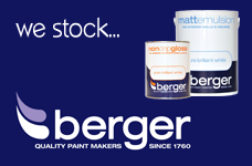 We Stock Berger Paint