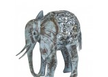 Smart Solar Metal ELEPHANT Scroll Light Decorative
