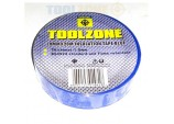 10 Rolls of 20m BLUE PVC Electrical Electricians Tape