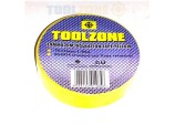 10 Rolls of 20m YELLOW PVC Electrical Electricians Tape