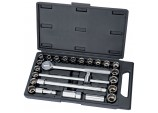 "1/2"" Sq. Dr. MM/AF Combined Socket Set (25 Piece)"