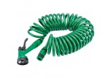 10M Recoil Hose with Spray Gun and Tap Connector