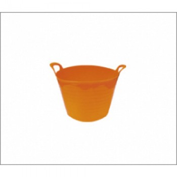40L Flexi Tub - Orange