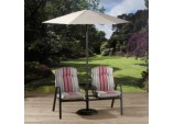 Bari Companion Bench With Parasol