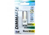 LED Dimmable G9 - 3w/300ml/4000k