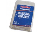 Cotton Twill Dust Sheet - 12' x 9' (3.6m x 2.7m) approx