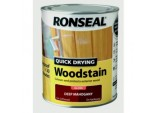 Quick Drying Woodstain Gloss 750ml - Deep Mahogany