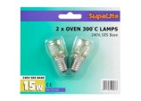 300°C Oven Lamps - 240v 15w SES