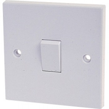 10A, 1 Gang 1 Way Switch - For BS3676