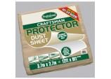Craftsman Protector Dust Sheet - Size 3.6 x 2.7m (12' x 9')