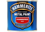 Metal Paint Hammered 250ml - Red