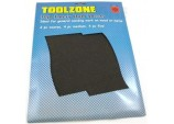 Emery Cloth Sheets -10 Pieces by Toolzone