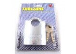 Brass Padlock With 4 Security Keys High Grade Security Closed Shank, 60mm