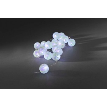 Christmas Decoration -Battery Operated Lightset with Small LED Balls