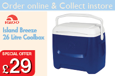 Island Breeze 26 Litre Coolbox – Now Only £29.00