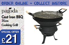 Cast Iron BBQ – Now Only £21.00