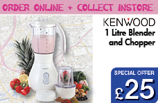 1 Ltr Blender and Chopper – Now Only £25.00