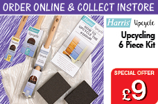 Upcycling 6 Piece Upcycling Kit  – Now Only £9.00