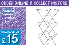 Essentials 3 Tier Airer – Now Only £15.00
