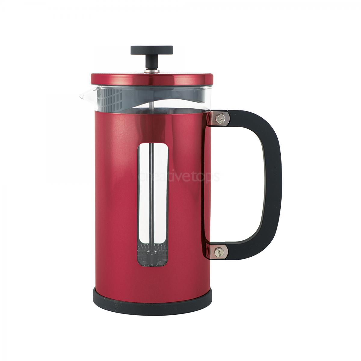 Pisa 8 Cup Cafetiere Red – Now Only £20.00