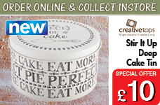Stir It Up Deep Cake Tin – Now Only £10.00