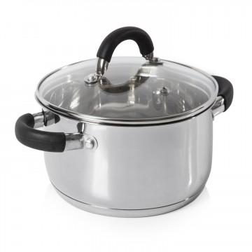 Essentials Essentials 24cm Casserole Dish Stainless Steel – Now Only £15.00