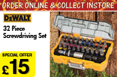 32 piece Screwdriving Set  – Now Only £15.00