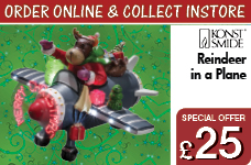 Reindeer in an Aircraft with LED Sensor and Timer 2 Minutes – Now Only £25.00