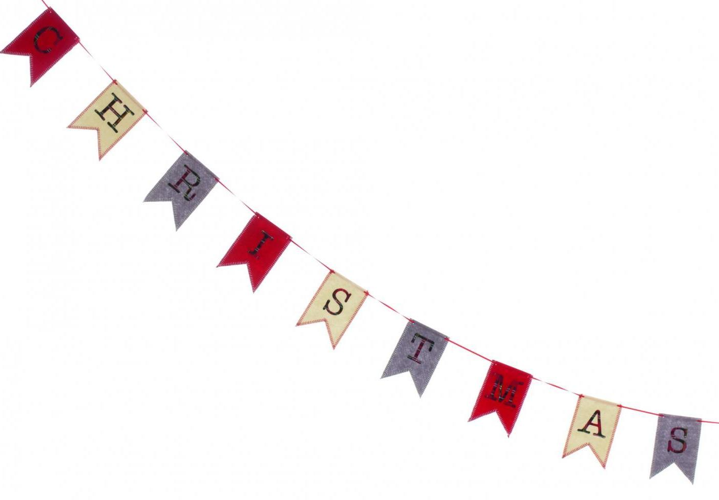 Merry Christmas Flag Bunting – Now Only £5.00