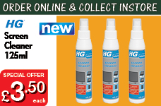 Screen cleaner 125ml - NEW PRODUCT – Now Only £3.50