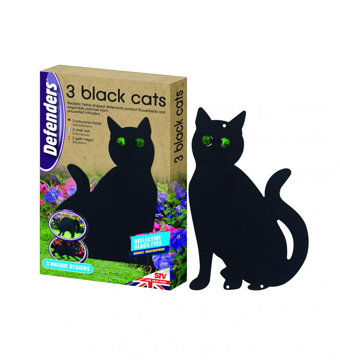 Three Black Cats - NEW – Now Only £9.00