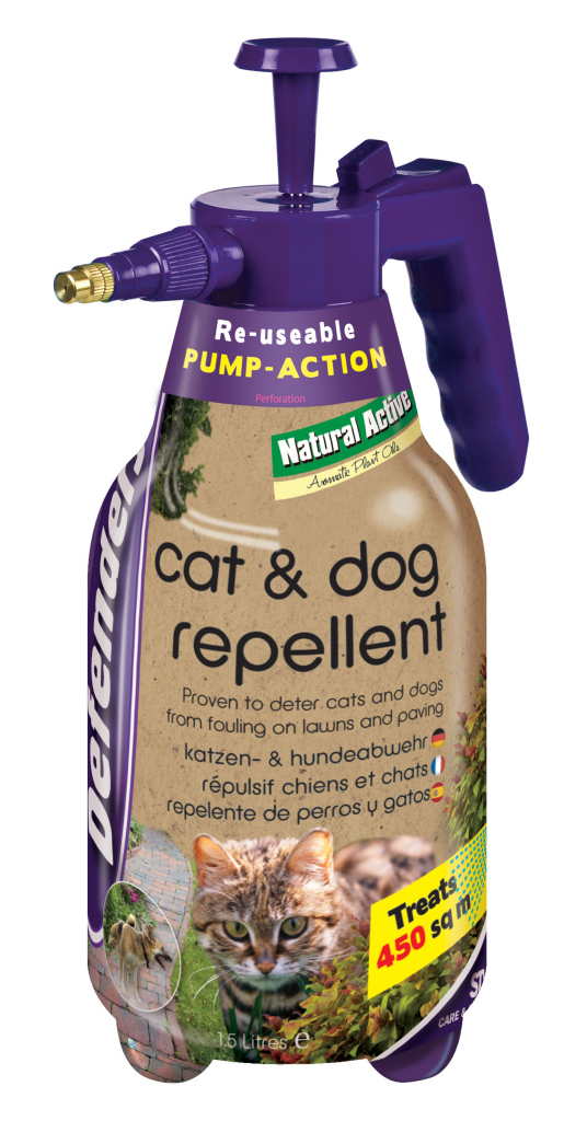 Cat & Dog Repeller 1.5L – Now Only £9.00