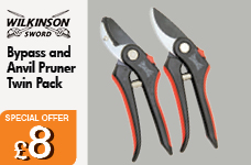 Bypass and Anvil pruner twin pack – Now Only £8.00