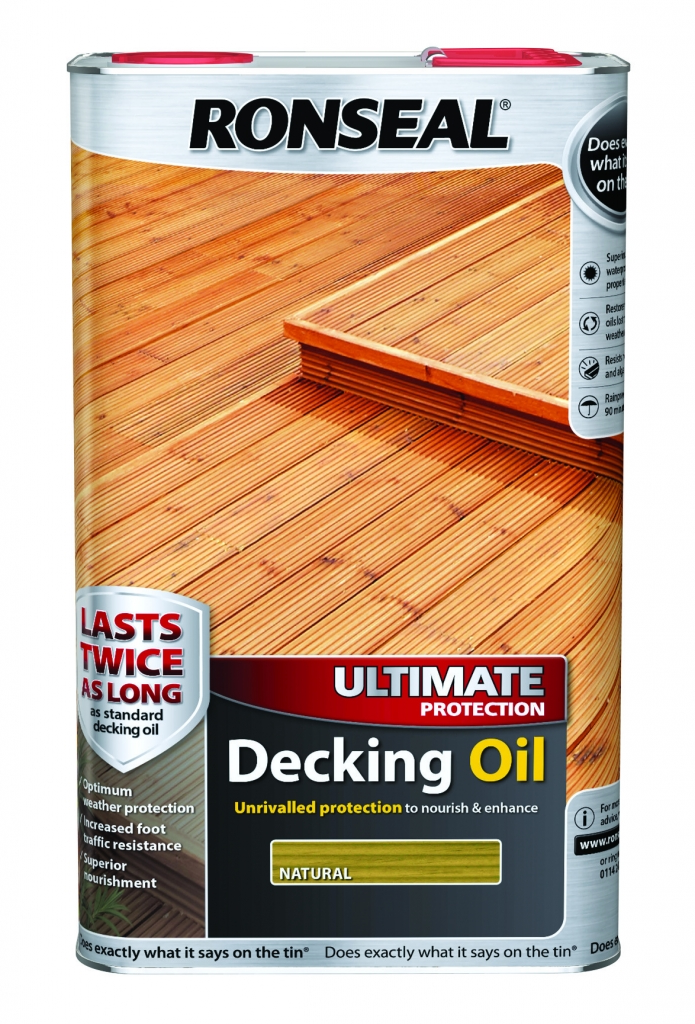 Ultimate Protection Decking Oil 5L Natural – Now Only £35.00