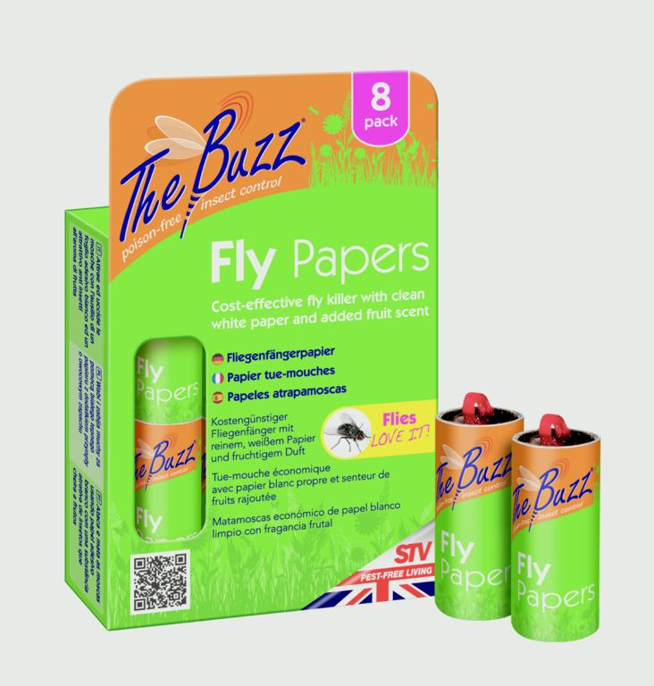 Flypapers 8 Pack – Now Only £3.00