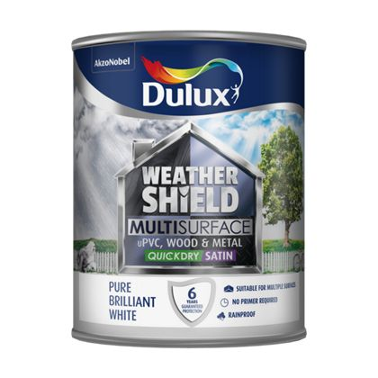 Multi Surface QD Satin 750ml - White – Now Only £25.00