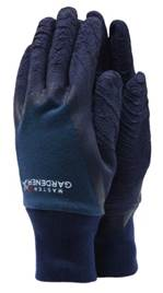 Master garden gloves - Mens Large - Navy  – Now Only £4.00