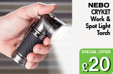 CRYKET Work light & Spot light – Now Only £20.00