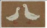 My Mat Printed Coir Mat 45 x 75cm Love ducks