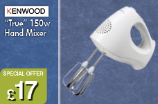 True Hand Mixer 150w – Now Only £17.00