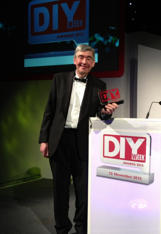 Colin with the DIY Gold Award