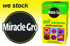 We Stock Miracle-Gro!