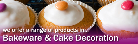 We offer a range of products in Bakeware & Cake Decorating - large ad