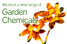 We offer a wide range of garden chemicals