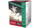 Christmas Warm White LED Battery Operated Decoration Light Set with Stars