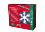 Christmas  LED Acrylic Snowflake Battery Operated by Konstimide