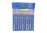 10 pc Diamond riffler needle files