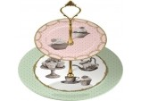 Katie Alice Cupcake Couture 2-Tier Cake Stand in Hat Box