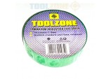 10 Rolls of 20m Green PVC Electrical Electricians Tape