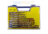 Professional Quality 8 Piece SDS Plus drill Bit set
